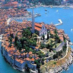 Rovinj, Istria, Croatia #TravelEuropeBeach