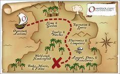 kids treasure map wallpaper - Google Search
