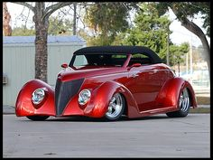 1937 Ford Convertible Street Rod 350 CI, Automatic