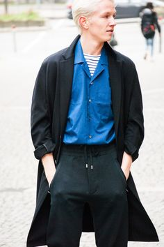 Pretty perfect #acnestudios #trousers #shirt #ami #coat #menswear #ootd #outfitoftheday #streetstyle