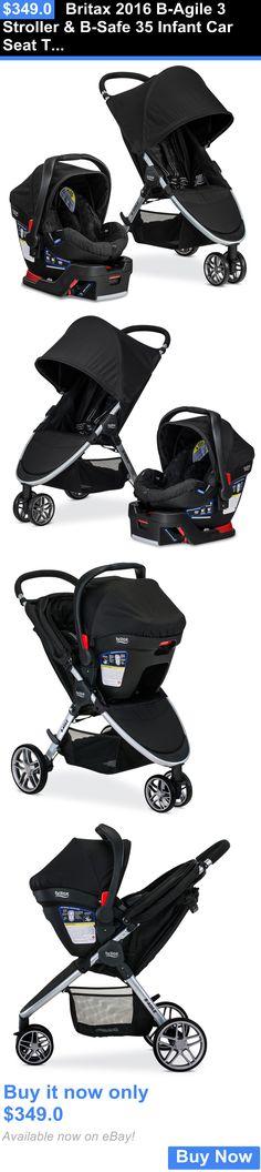 Baby Britax 2016 B Agile 3 Stroller And Safe 35 Infant Car