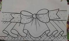 Resultado de imagen para pintura em barrados em tecidos