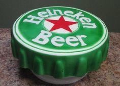 beer cap cake step 8