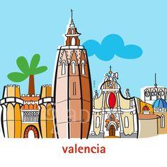 Centro histórico de Valencia- ADUO- www.aaduo.es