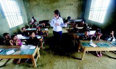 Escola em Hanói, capital do Vietnã. O país, que há 40 anos era agrário e analfabeto, está entre os primeiros colocados em ciências (Foto: Nguyen Huy Kham/Reuters)
