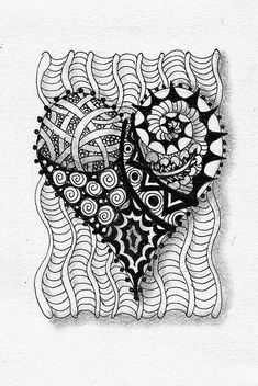 zentangle-heart