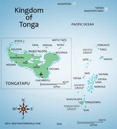 Tonga Islands | map of tonga tonga named the friendly islands by captain