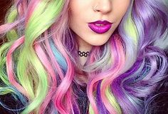 If you are looking for crazy hair color ideas? Alright then, you just found these crazy hair colors you cannot imagine. Let's take a tour to our color options. Ombre Blond, Ombre Hair, Pelo Multicolor, Color Fantasia, New Hair Trends, Beautiful Hair Color, Unicorn Hair, Big Chop, Dye My Hair
