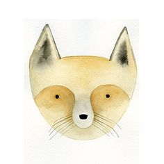 Fox Watercolor Face , 20x20in. (paper). The cure for the common poster. Our high quality open edition digital art prints (giclées) are redefining what was traditionally the poster market. Available in pre-set standard sizes on paper or canvas, our Budget Editions (BED) collection is aggressively priced to meet your budget needs and offers the fresh, sophisticated imagery that is distinctively Grand Image. Please note, all prints are on loose paper, unmounted, and have an additional 1 inch...