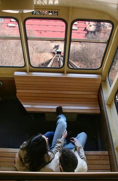 Monongahela Incline. This is one of the best things to do with visitors to the city. Usually scares the bejeebers out of them!