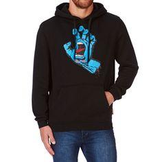 Buy Santa Cruz Screaming Hand Hoodie Black at Europe's Sickest Skateboard Store Size L Skateboard Store, Skateboard Fashion, Sweat Shirt, Parka, Longboard Shop, Skate Shop, Skateboards, Black Hoodie, Pull