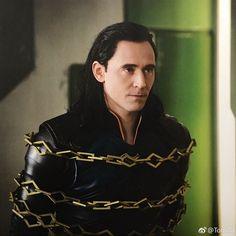 Tom Hiddleston as Loki in Thor: Ragnarok. Source: Torrilla (https://m.weibo.cn/status/4180520629891137 )