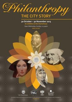 #City #Philanthropy is under the spotlight in a fabulous new exhibition at the Charterhouse, curated by The Museum of London, from October 30 to November 30.  http://bit.ly/18ruU96