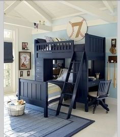 Little boys room! Maybe if C and L share a room