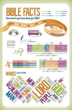 Si quieres aprender, ENSEÑA.: Infografía de la Biblia