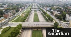 From highways carved through thriving 'ghettoes' to walls segregating black and white neighbourhoods, US city development has a long and divisive history Race In America, Aerial View, The Guardian, Urban Decay, Paris Skyline, The Neighbourhood, New York, Community, Black And White