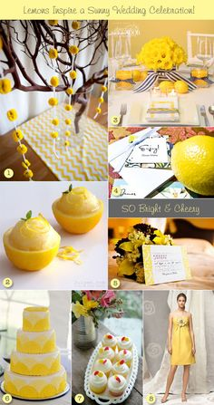 Lemon-inspired wedding ideas height=