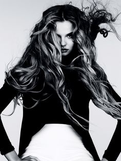 Магдалена Фраковяк для Vogue Germany, декабрь 2011 года