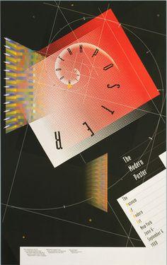 April Greiman. The Modern Poster, The Museum of Modern Art, New York. 1988