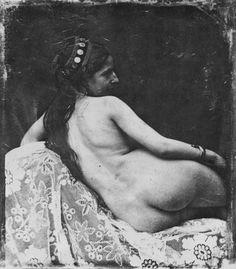 Возможно, старейшая эротическая фотография - Самый сок!