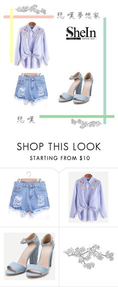 """""""Shein 10"""" by zina1002 ❤ liked on Polyvore"""
