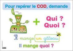 COD = question verbe + qui quoi ?