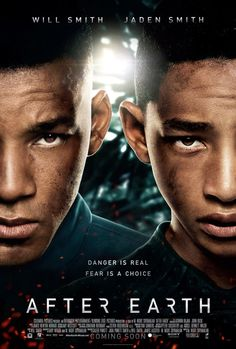 #watchingnow - After Earth.