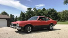 1973 Ford Maverick Grabber 302 Automatic For Sale in Otway, Ohio Ford Maverick, Brake Shoes, New Tyres, Car Painting, Ohio, Ads, Blue, Columbus Ohio