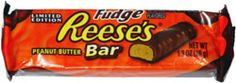 Reese's Candy Bar | Fudge Reese's Peanut Butter Bar