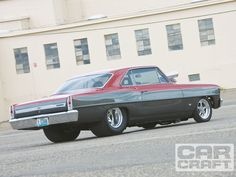 One of my Top 5 cars ever built. The 67 Chevy ll has such an appeal to me. It's a square bodied Ride that's shorter and lighter than the 65 Malibu SS .With a LT1 350, a B&M shift kitted Turbo 350 and a 3000 rpm stall- this car was fun and quick. Add 125-150 HP worth of NOS Cheater system and some sticky tires.... FAST!!!!
