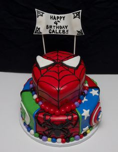 Superman Spiderman And Batman Cakes   Recent Photos The Commons Getty Collection Galleries World Map App ...