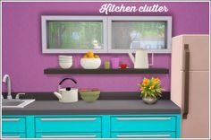 "lina-cherie: ""More kitchen clutter conversions! A set of 8 Ts3 conversions: • awesims bowl of oranges • baufive nesting bowls • baufive coffecup tumbler - 2 recolors • buffsums coffepot -1 recolor • buffsum teapot - 1 recolor • buffsum heartcup - 2..."