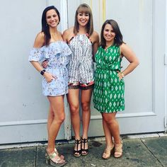 When your besties show up to a PI Phi reunion in @apricity_boutique  #lucky #blessed #piphi #rolltide #ootd #bff #romper --> Rompers online now apricityboutique.com