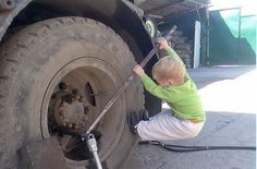 Looks like me working on my car...hardest part is getting bolts lose!