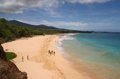 Palauea Beach Makena   Makena Big Beach in Makena State Park, Maui, HI