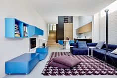 True Blue Terrace, Nexus Design