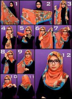 Beautiful hijab tutorial