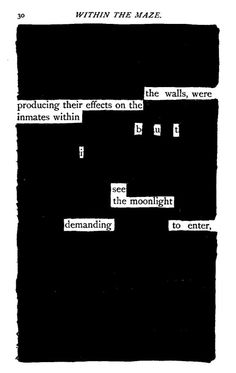 Within the Maze Blackout Poem, Maze, Literature, Poems, Quotes, Literatura, Quotations, Poetry, Labyrinths