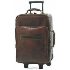 Chiarugi borsa da viaggio in pelle borsone trolley