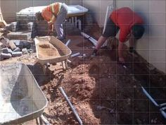 Jacuzzi and Paving Installation Jacuzzi, Bubbles, Vw Beetles, Hot Tubs