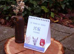 Fürs neue Jahr: ein Kalender mit meinen Alpaka-Illustrationen. Erhältlich in meinem #etsy-Shop: Alpaca Kalender 2018 - A6 Format, Illustrationen, Tischkalender http://etsy.me/2ily8cM #2018 #kalender #Newyear #Papeterie #alpaca #alpaka #illustration #calendar #jahr