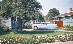 theniftyfifties:    Suburban California, 1954.