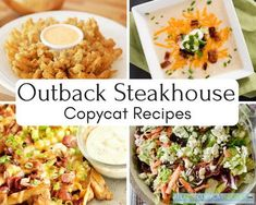 19 Copycat Outback Steakhouse Recipes We are huge fans of Outback recipes. Outback copycat recipes offer heaping helpings of the best stuff out there! Onion Recipes, Dog Recipes, Side Dish Recipes, Dinner Recipes, Cooking Recipes, Fondue Recipes, Cooking Games, Healthy Cooking, Outback Recipes