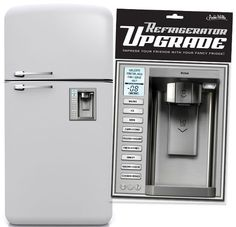 Upgrade Refrigerator Magnet