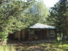 Jack's Cabin, a cozy creekside cabin...let the adventures begin!Vacation Rental in Allenspark from @homeaway! #vacation #rental #travel #homeaway