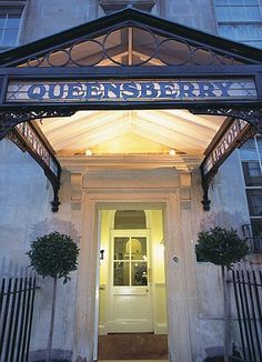 The Queensberry Hotel...