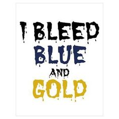 BOOM! Epic bleeds blue & gold. Mountaineers