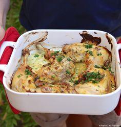 Réaliser cette recette facile et rapide à préparer de cuisses de poulet au four, à la moutarde et au thym, et vous vous régalerez. Food Porn, Menu Restaurant, Fall Recipes, Food Inspiration, Mashed Potatoes, Main Dishes, Good Food, Food And Drink, Chicken
