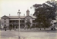 St Vincent's Hospital in Darlinghurst,in eastern Sydney in c1905.A♥W
