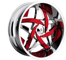 """On Fire""Custom Wheels, Chrome Rims, Tire Packages - CARiD.com"